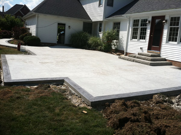 G m concrete architectural concrete - Concrete backyard design ...