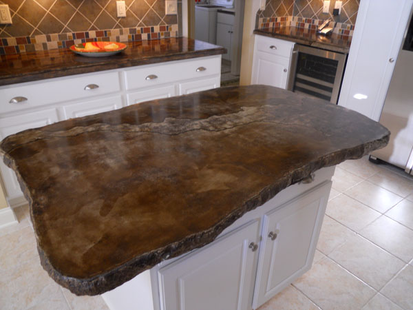Edge Forms For Concrete Countertops Pictures to pin on Pinterest
