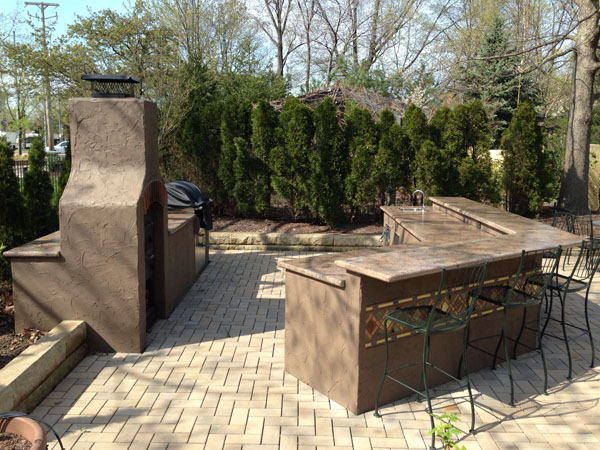 Commerical Outdoor Kitchen