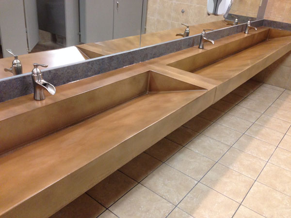 G M Concrete Commercial Concrete Countertops