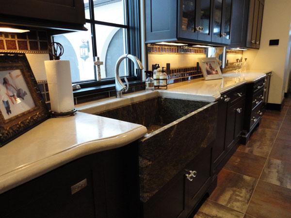 GM Concrete Concrete Countertops - Concrete cabinets