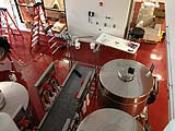 Red Metallic Industrial Floor Coating