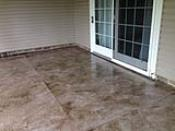 Stucco Finish Concrete Flooring Overlay